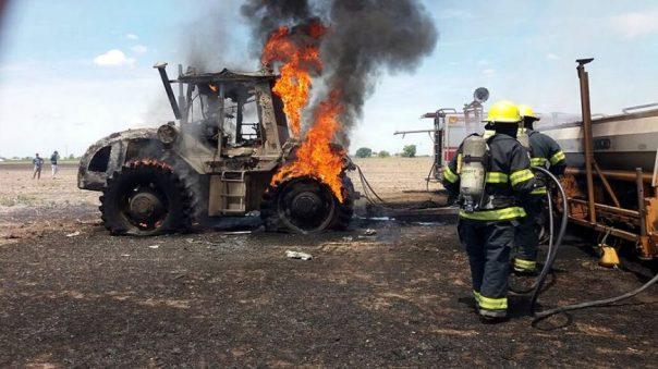 seguro incendio tractores
